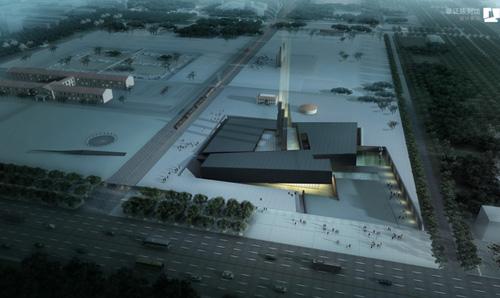 华南理工大学建筑设计研究院建筑作品服务抗战胜利70周年